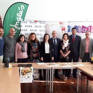 Presentación del Torneo Solidario de Navidad en la sede de la Cruz Roja