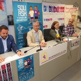 Presentado ante los medios el I Torneo Benéfico Autismo León 2018