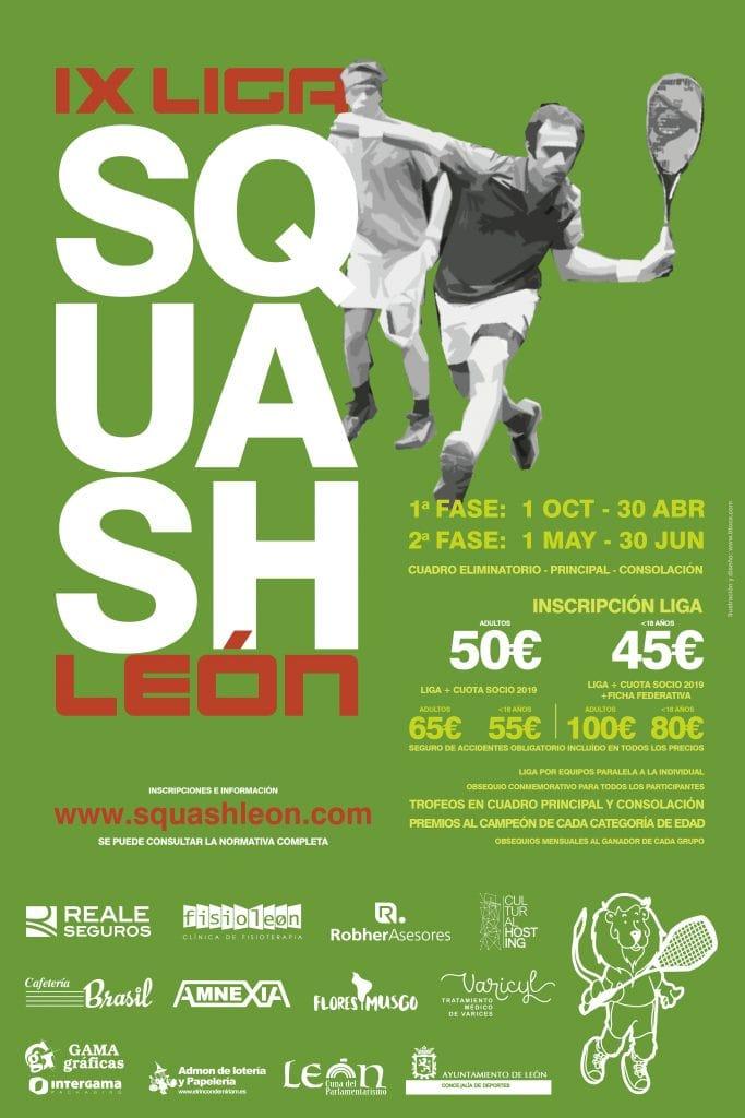 VIII Liga Squash León 2017-2018