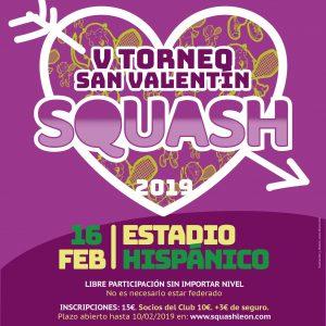 Cuadros disponibles V Torneo San Valentín 2019